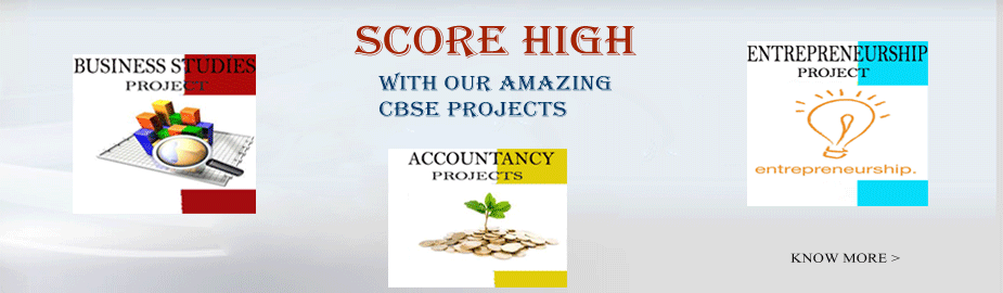 Score high with our amazing CBSE Projects